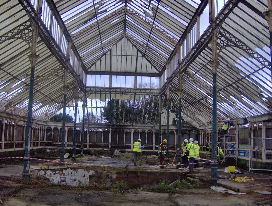 Gladstone Pavilion Stanley Park Liverpool Glass