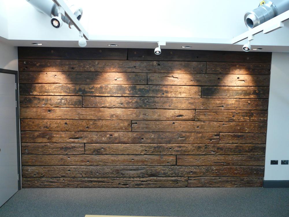 Brunel Institute Seminar Room Wall Wood Work Eura