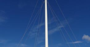 Bannockburn Heritage Centre: Flagpole.