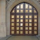 Sovereign's Entrance: Replica studs.