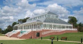 Gladstone Pavilion, Stanley Park, Liverpool.