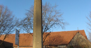Thornton Hough Village War Memorial.