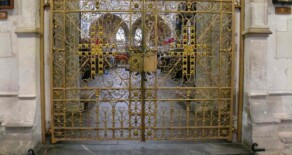 Exeter Cathedral. Golden Gates